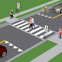Image of a Pedestrian Crossover