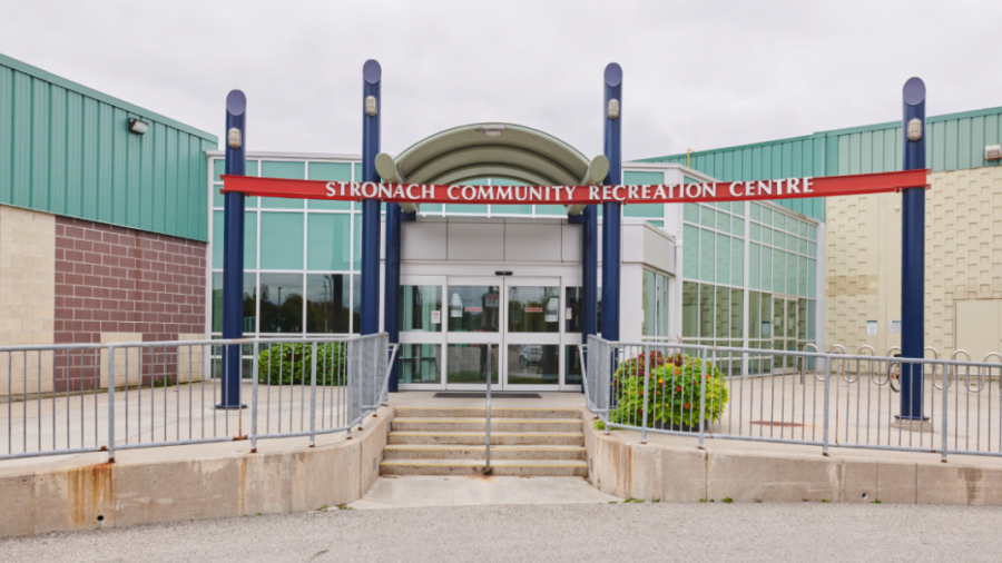 Stronach Recreation Centre exterior